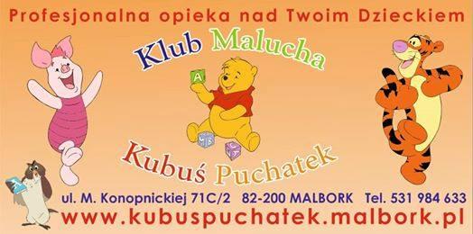 KLUB MALUCHA I PUNKT OPIEKI 'KUBUŚ PUCHATEK' logo