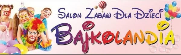 Salon zabaw dla dzieci Bajkolandia w Bartoszycach logo