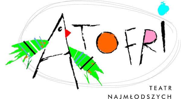 10 lat Teatru Atofri logo