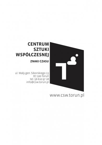 Wystawa / Iwona Chmielewska. RZECZY WIŚCIE logo