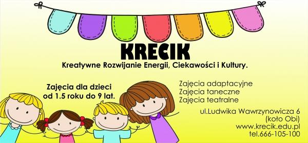 'KRECIK' - Kreatywne Rozwijanie Energii, Ciekawości i Kultury. logo