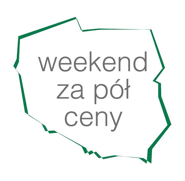 Weekend za pół ceny logo