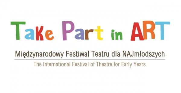 TAKE PART IN ART - Październikowe propozycje festiwalu dla najmłodszych miłośników teatru logo