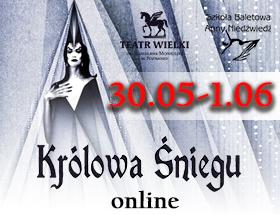 Królowa Śniegu online na Dzień Dziecka! logo