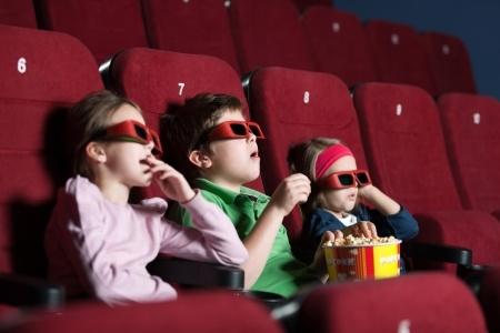 Dzieci w kinie - atrakcja kulutralna