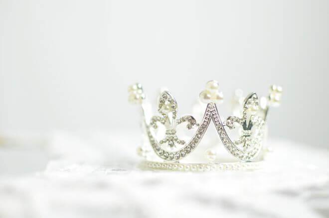 tiara królewny