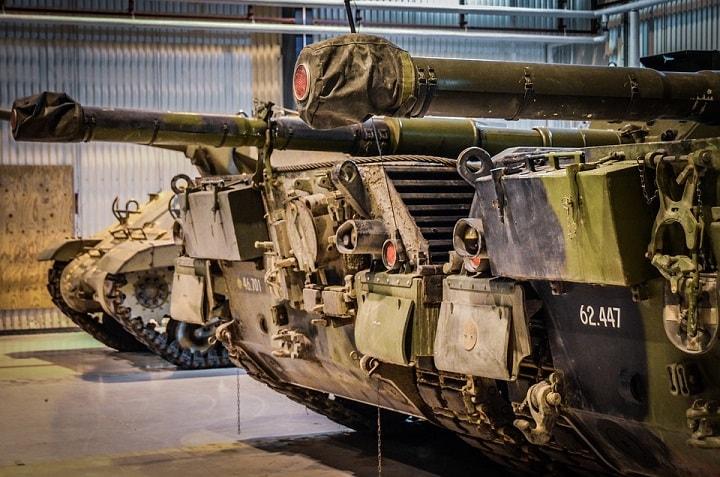 Czołg w Muzeum Sprzętu Wojskowego