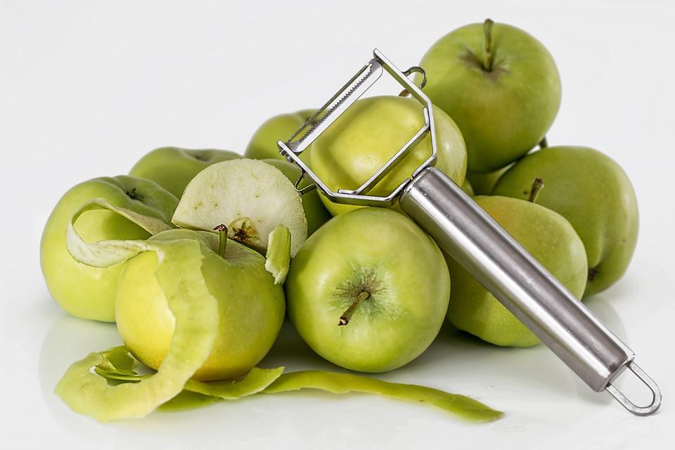 jabłka przeznaczone do obrania