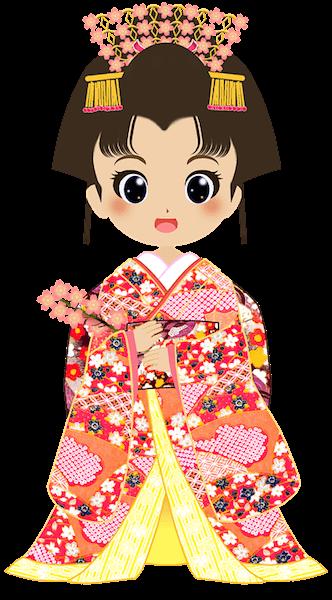Japonka w kimonie