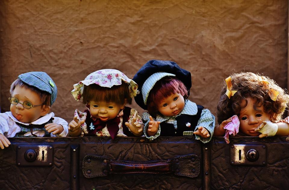 lalki w muzeum