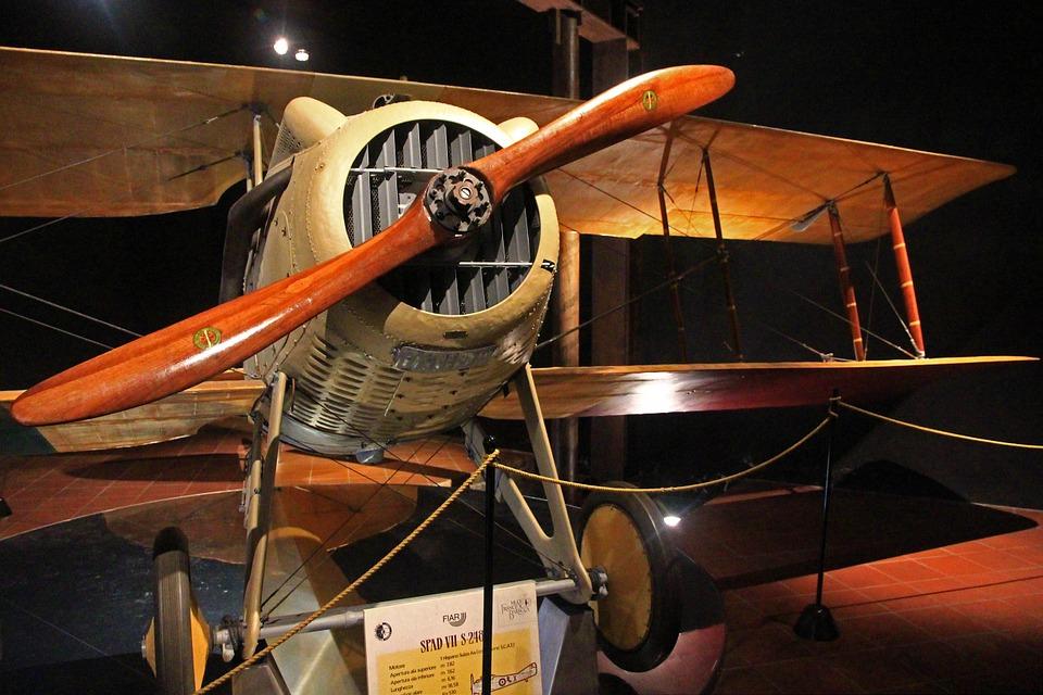 Eksponat w muzeum lotnictwa