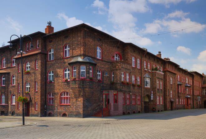 dzielnica Nikiszowiec w Katowicach