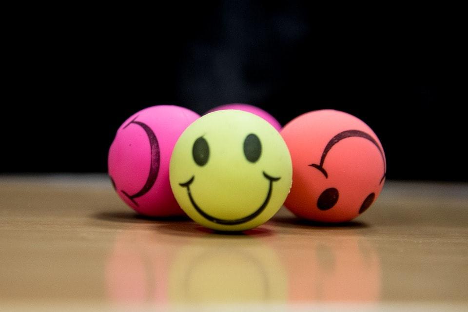 Uśmiechnięte piłeczki