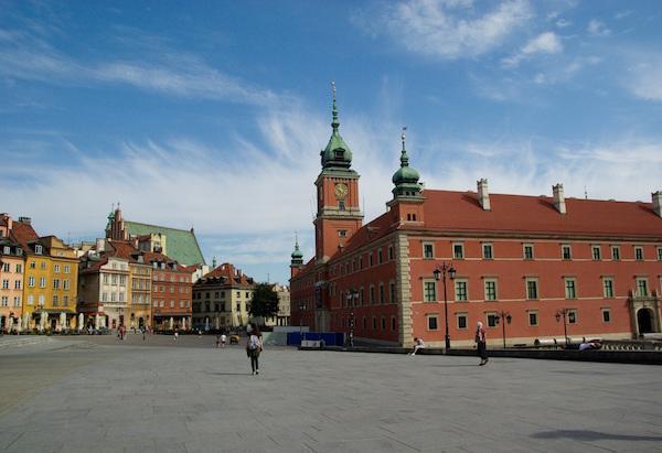Zamek Królewski na Placu Zamkowym w Warszawie