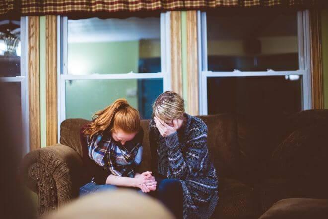 kłótnia mamy z nastolatką