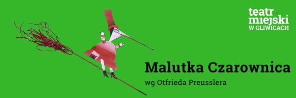 plakat przedstawienia Malutka czarownica