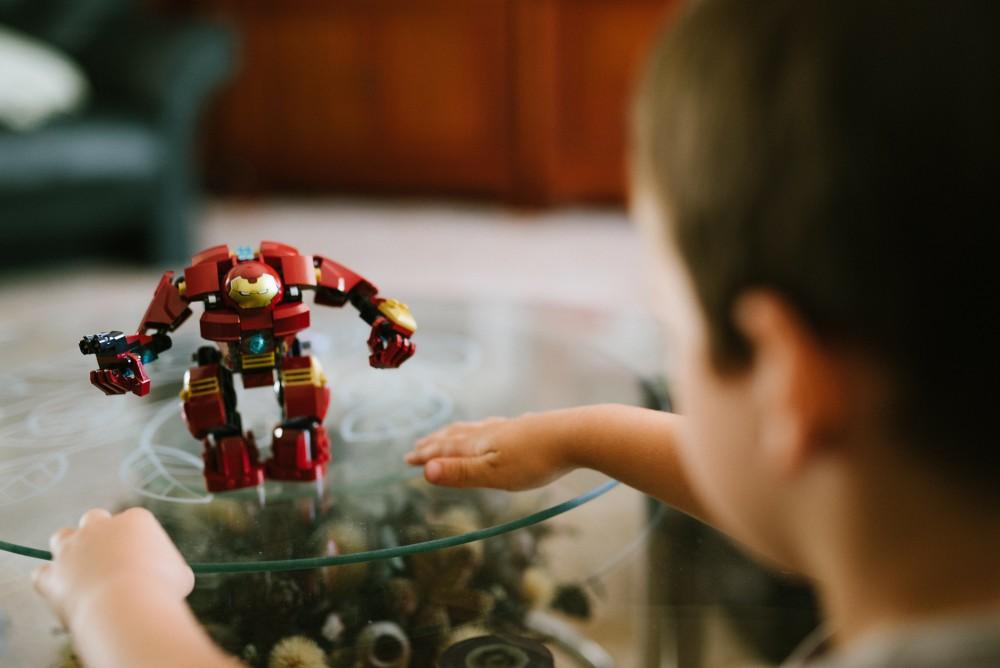 Zabawa z robotem Lego
