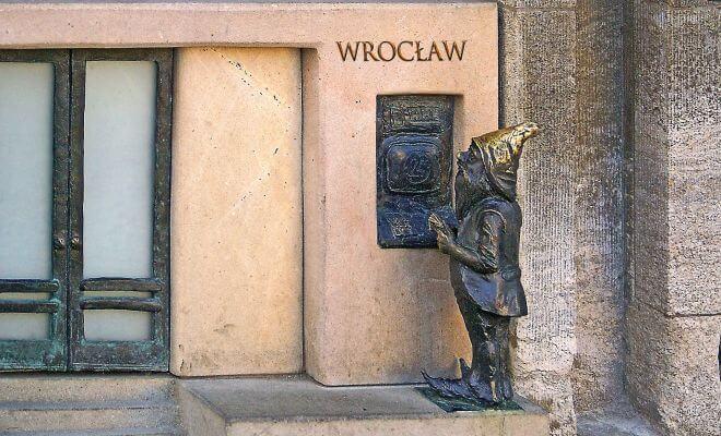 krasnal na wrocławskim rynku